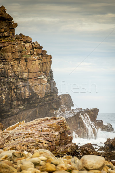 Ocean Cliffs South Africa Stock photo © THP