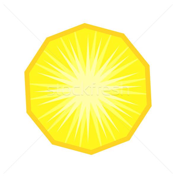 ананаса фрукты ломтик вектора изолированный дизайна Сток-фото © THP
