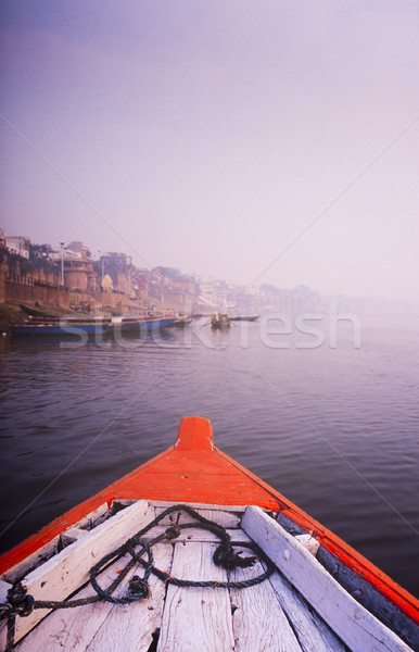 реке Индия гребля лодка вниз Сток-фото © THP