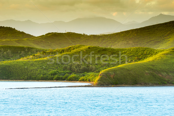 Noumea Sunset Landscape Stock photo © THP