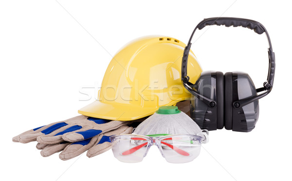 Safety Equipment Isolated Stock photo © THP