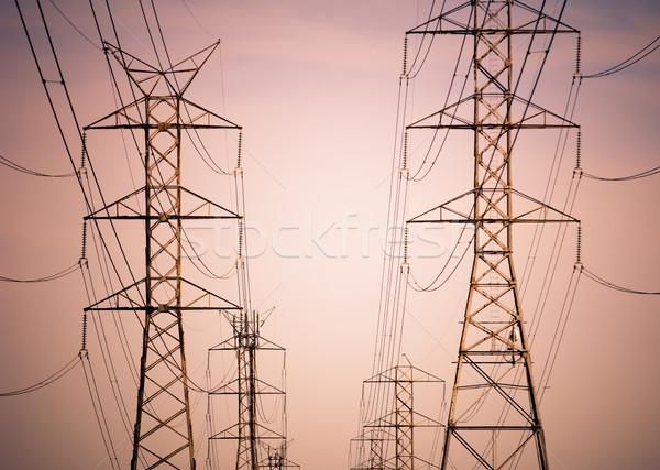 Power Lines Stock photo © THP