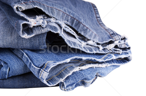 Torn Jeans Stock photo © THP