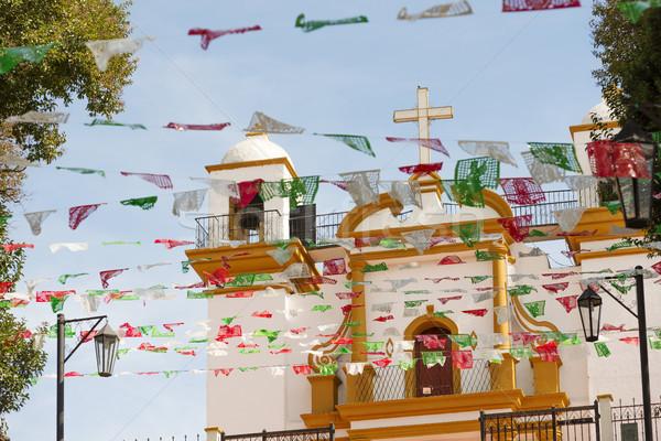 Guadalupe Church In San Cristobal Chiapas Stock photo © THP