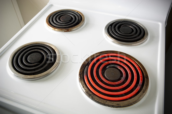 Electric Stovetop Stock photo © THP