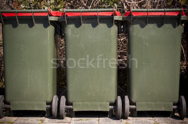 Wheelie Bins Stock photo © THP
