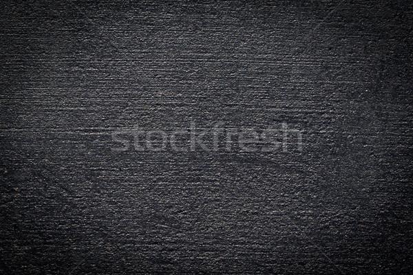 Fekete aszfalt textúra új út építkezés Stock fotó © THP