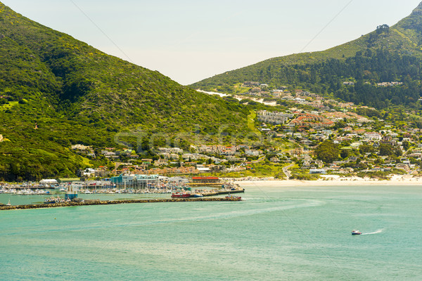 Hout Bay Harbour Stock photo © THP
