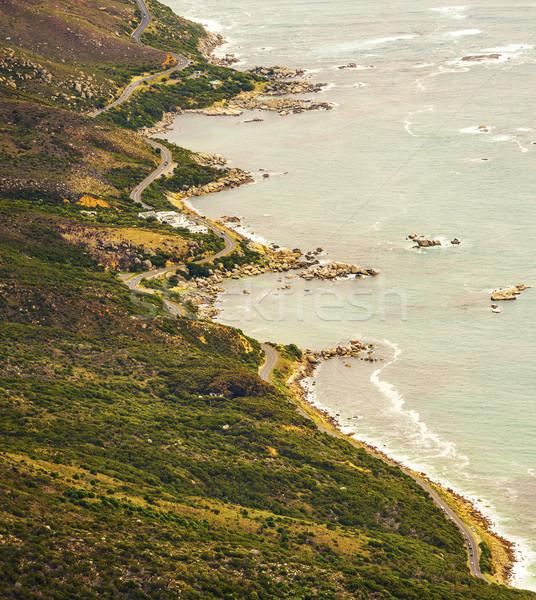 Route disque nature réserve Le Cap Photo stock © THP