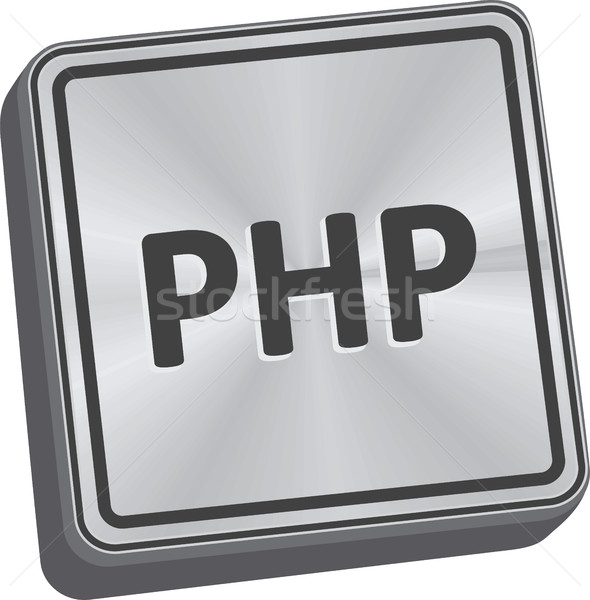 PHP Button Stock photo © THP