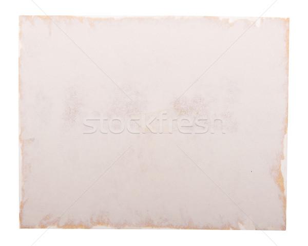 Old Photo Paper Edge Stock photo © THP