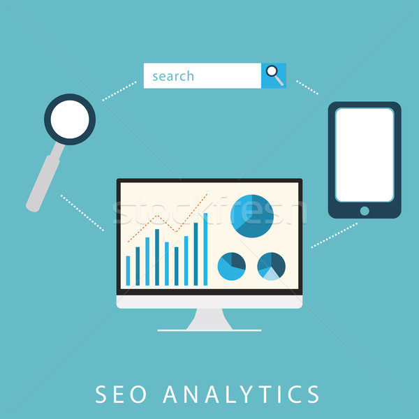 SEO Analytics Stock photo © THP