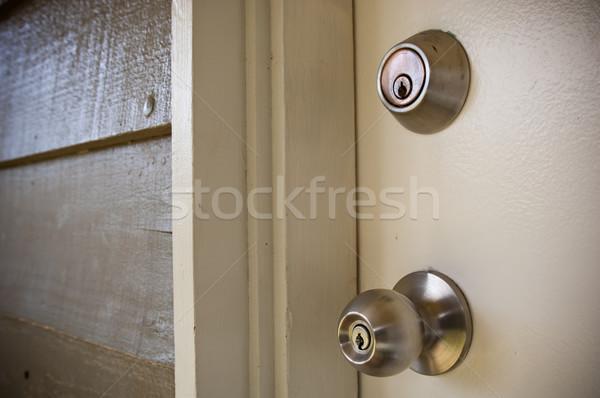 Door Locks Stock photo © THP