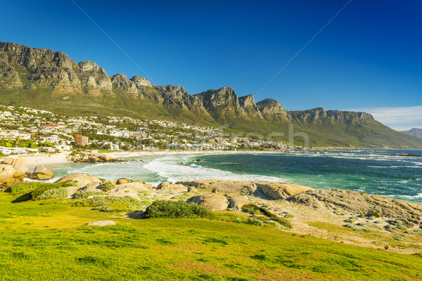 Camps Bay in Cape Town, South Africa Stock photo © THP