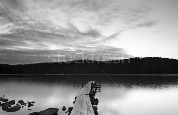 Sunset Pier Stock photo © THP