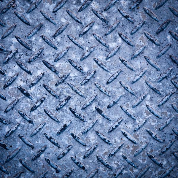 Checkerplate Background Stock photo © THP