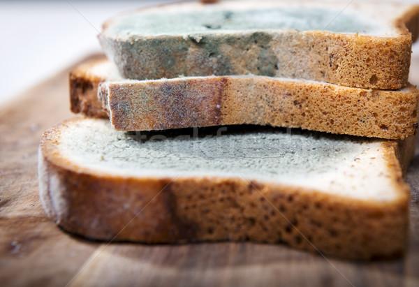Ekmek büyüyen yeşil beyaz siyah Stok fotoğraf © THP