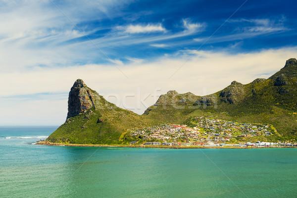 Paysage scénique Le Cap Afrique du Sud plage ciel Photo stock © THP