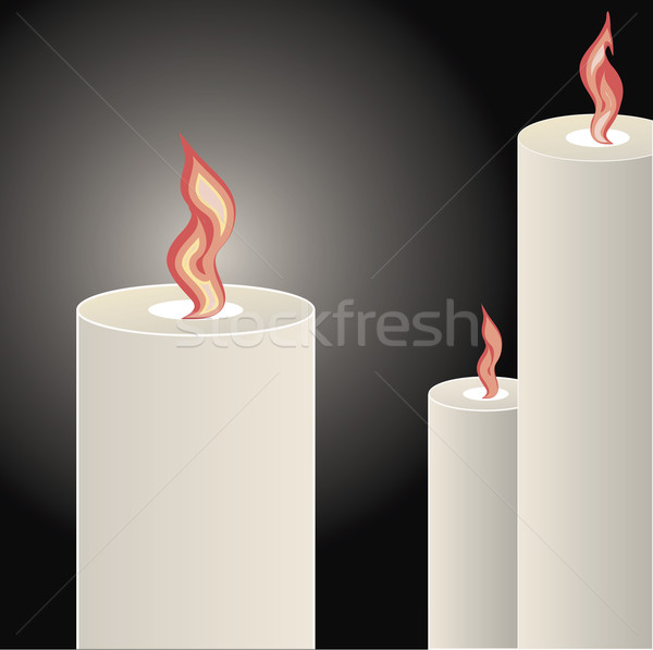Candles Stock photo © THP
