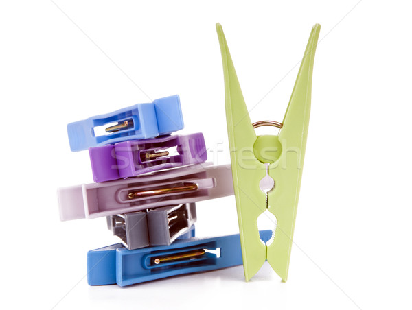 Pegs Isolated Stock photo © THP