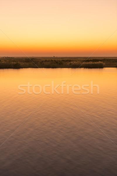 Chobe River Sunset Stock photo © THP