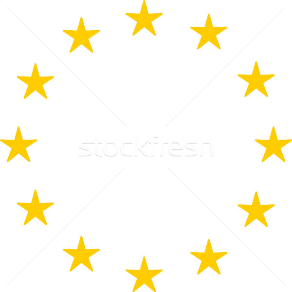 Circle Of Stars European Union Stock photo © THP