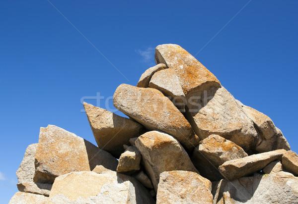 Granit kayalar doğal oluşum ada güney avustralya Stok fotoğraf © THP