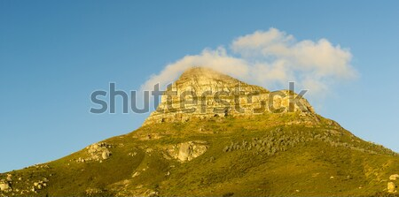 Панорама голову Кейптаун облаке закат природы Сток-фото © THP
