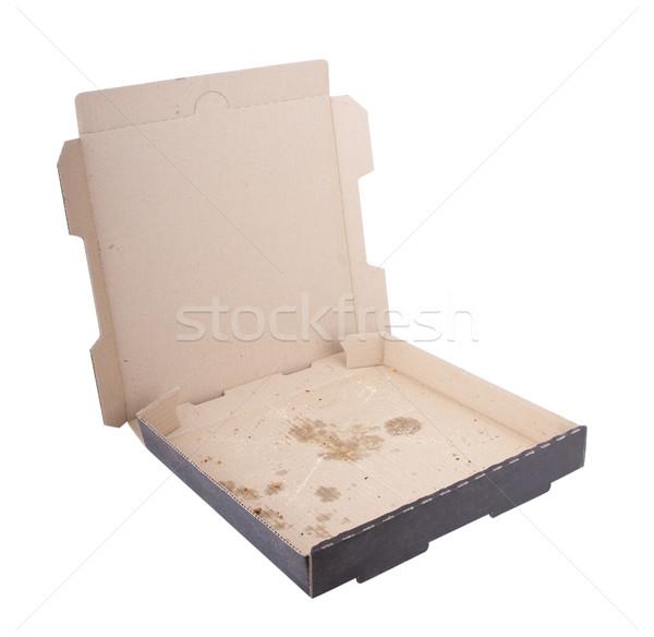Empty Pizza Box Stock photo © THP