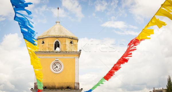 San Juan Ostuncalco Stock photo © THP
