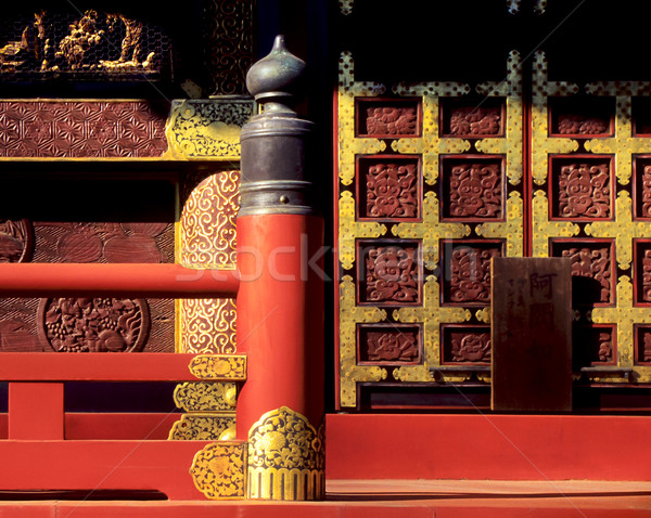Japanese Temple Detail Stock photo © THP
