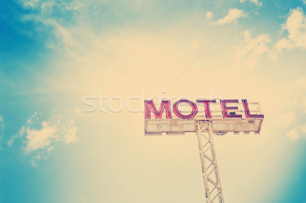 Motel Sign Stock photo © THP