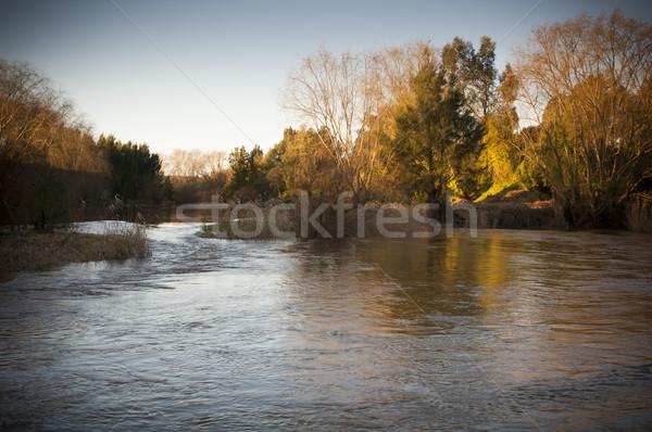 Sunset River Stock photo © THP