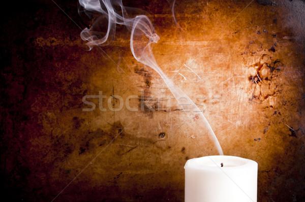 Candle Smoke Trails Stock photo © THP
