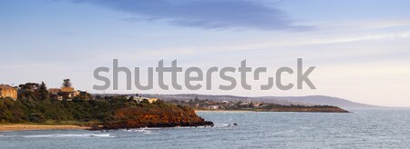 半島 パノラマ 日没 空 太陽 光 ストックフォト © THP