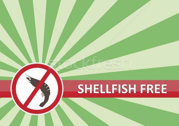 Shellfish Free Banner Stock photo © THP