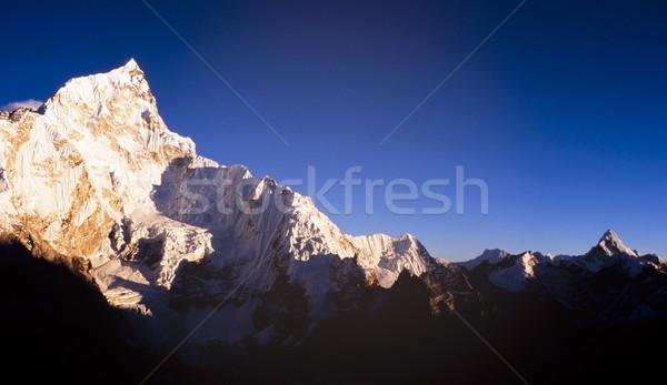 Stok fotoğraf: Dağlar · muhteşem · dağ · manzara · Everest · Dağı