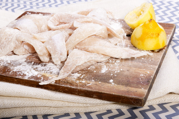 Fish Fillets Stock photo © THP