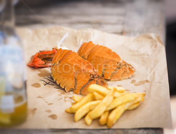 Сток-фото: рыбы · чипов · современных · Австралия · ошибки