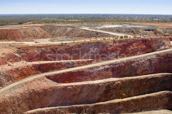 Mining Australia Stock photo © THP