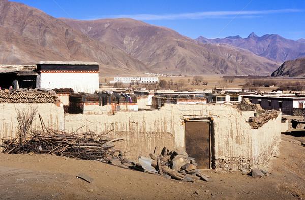 Tibetan House Stock photo © THP