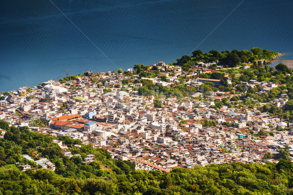 Aerial View Of San Pedro Stock photo © THP