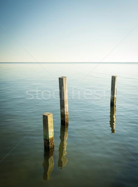 Minimalist Ocean Landscape Stock photo © THP
