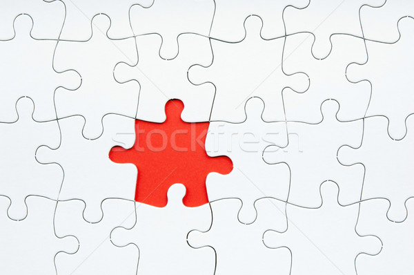 Jigsaw Puzzle Missing Piece Stock photo © THP