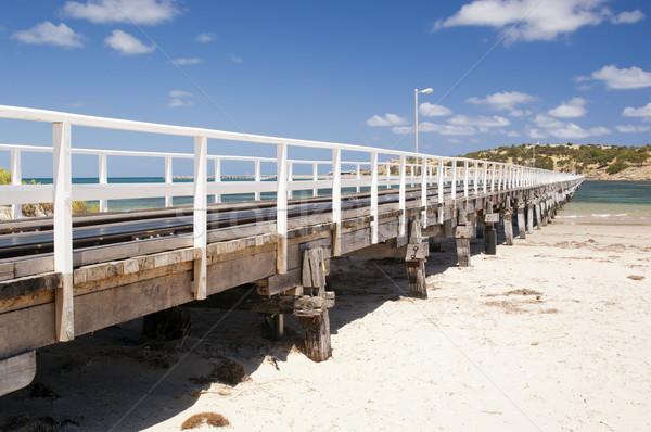 Granito ilha fora atração turística sul da austrália praia Foto stock © THP