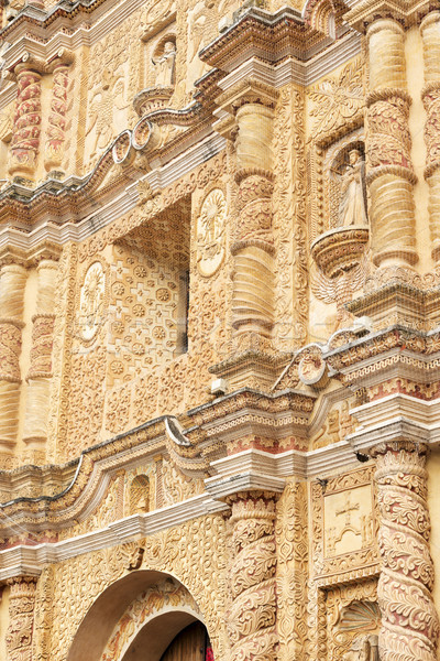 Santo Domingo Church San Cristobal De Las Casas Stock photo © THP