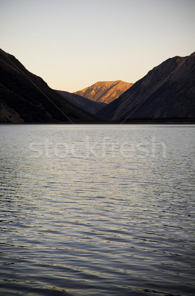 Sunset Lake Stock photo © THP
