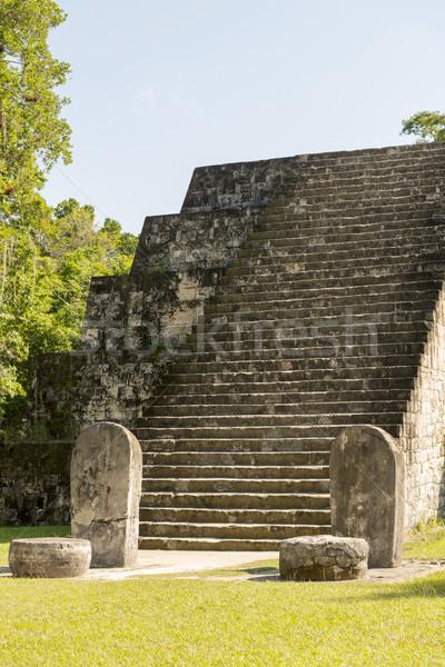 комплекс руин Гватемала пирамида природы путешествия Сток-фото © THP