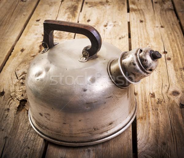 Old Tea Kettle Stock photo © THP