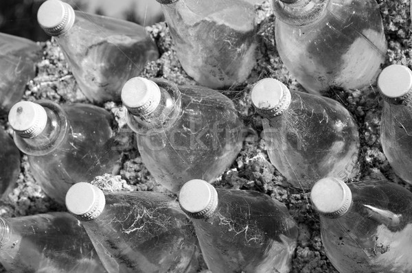 Old Glass Bottles Stock photo © THP